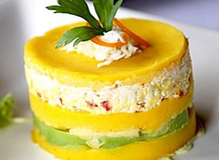 Comida peruana – Como preparar Causa Rellena de pollo
