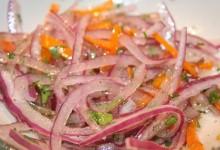 Comida peruana – Como preparar Salsa Criolla