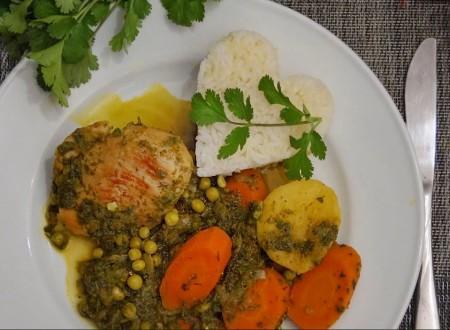 Comida peruana – Como preparar Seco de pollo