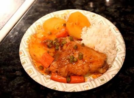 Comida peruana – Como preparar Estofado de Pollo Peruano